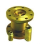 Клапан термозапорный КТЗ-001-50-02 фланцевый